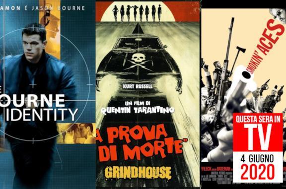Stasera in TV: 4 giugno con The Bourne Identity e Grindhouse