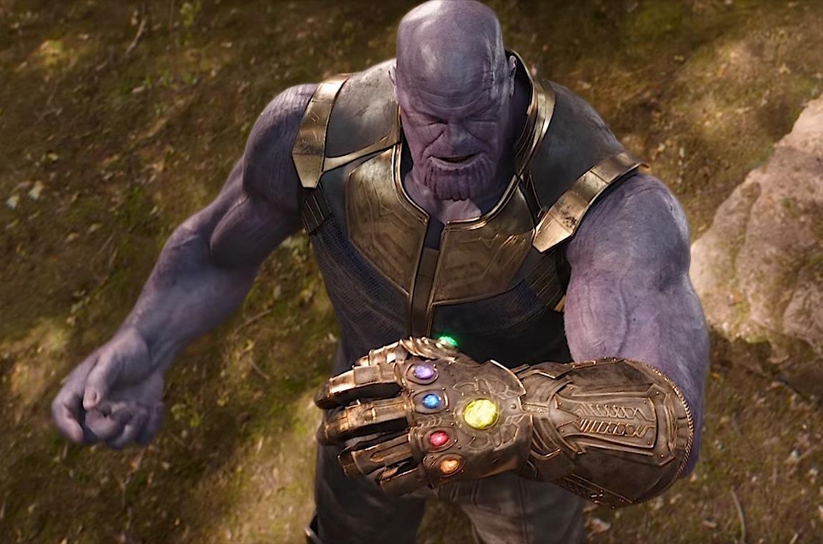 Il Guanto dell'Infinito di Thanos in Avengers: Infinity War