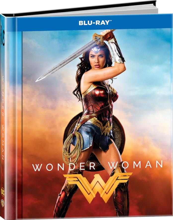 Wonder Woman Blu-Ray digibook
