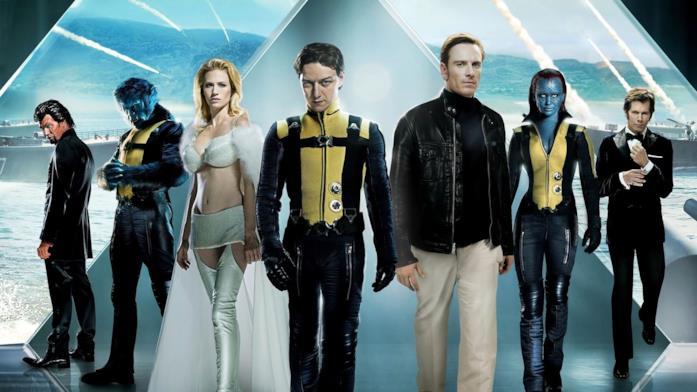 I protagonisti di X-Men: L'inizio