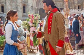 Un collage tra Luke Evans e Gaston