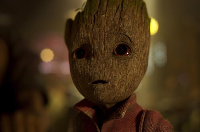 Baby Groot in Guardiani della Galassia 2
