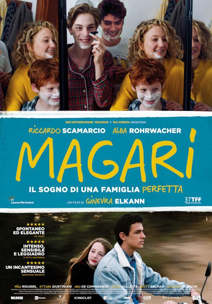 Magari - poster del film di Ginevra Elkann