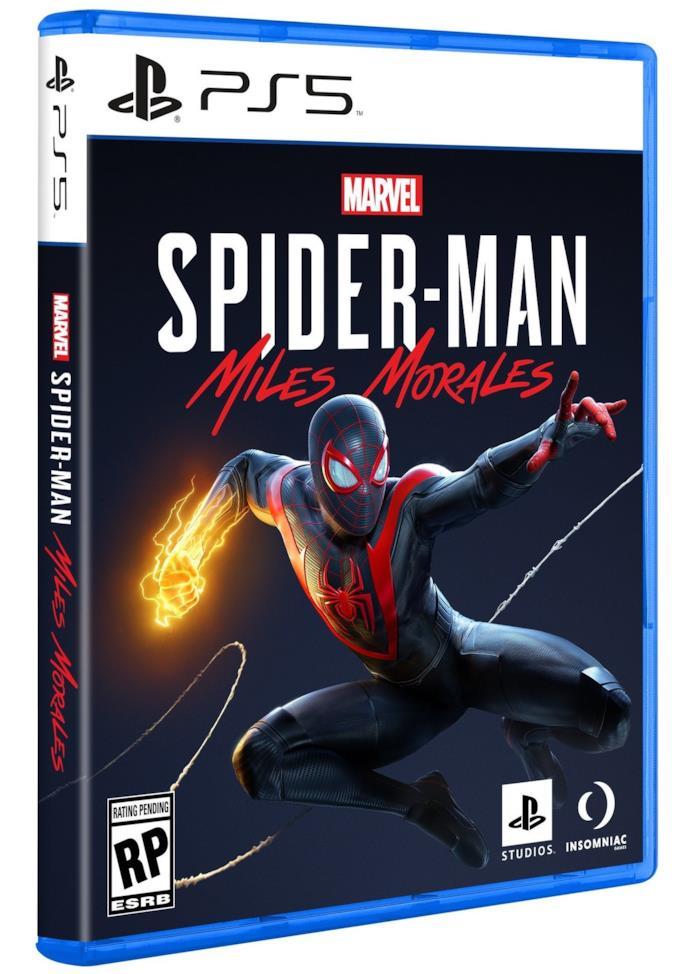 La copertina ufficiale di Marvel's Spider-Man - Miles Morales