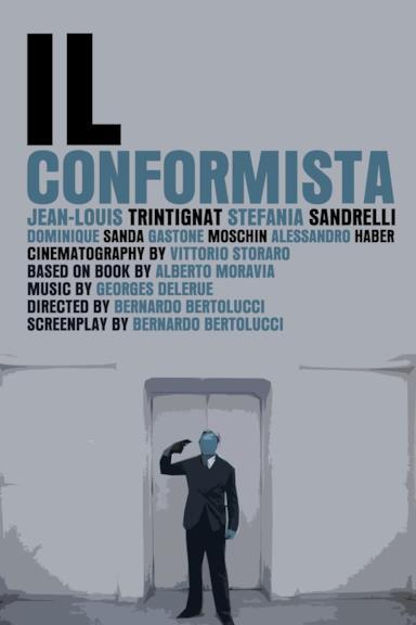 Poster Il conformista