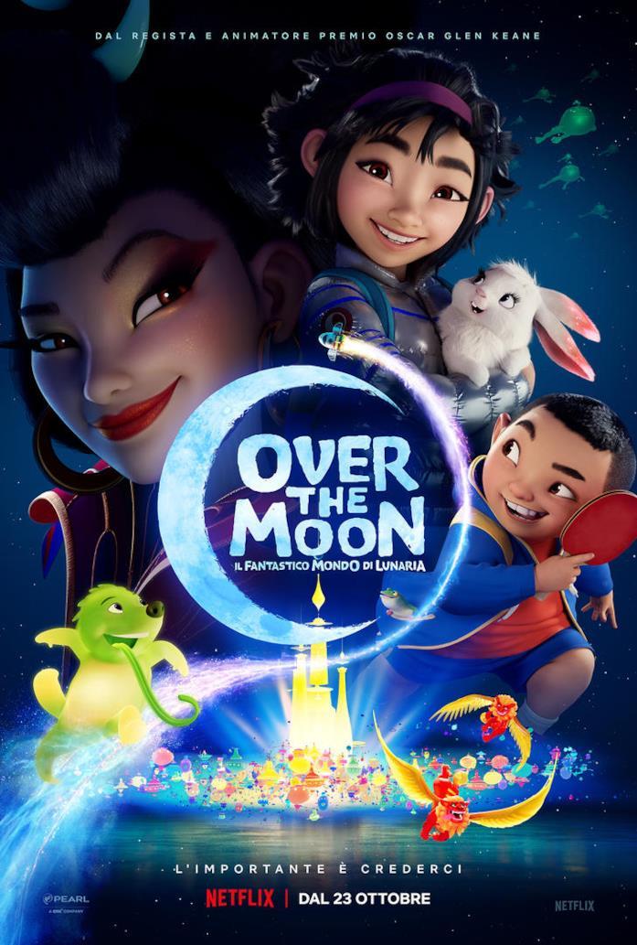 I personaggi di Over the Moon