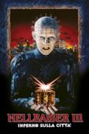 Poster Hellraiser III - Inferno sulla città