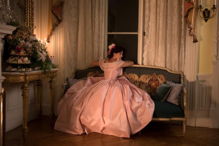 L'abito rosa di Jacqueline Durran