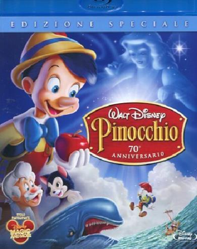 Cofanetto Blu-ray di Pinocchio