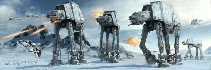 AT-AT di Star Wars