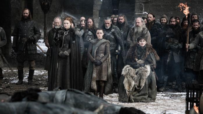 Gli Stark in Game of Thrones 8x04