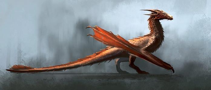 Un drago di House of the Dragon