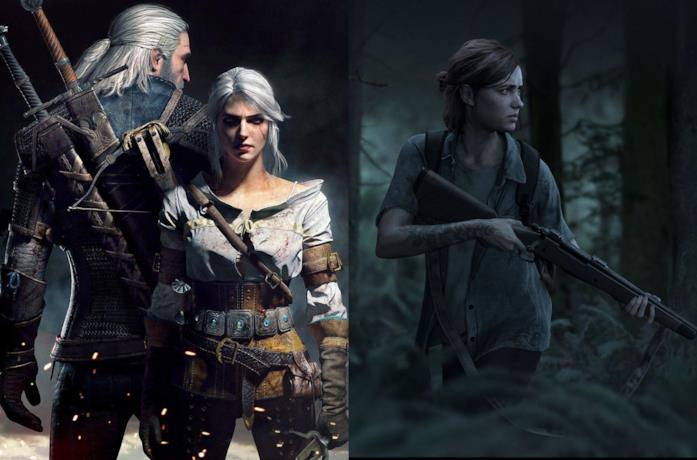 The Witcher 3 e The Last of Us Part II