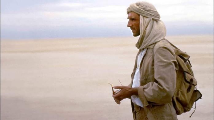 Il paziente inglese in una scena nel deserto