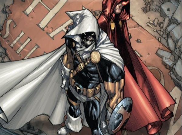 Dettaglio della cover di Avengers: The Initiative #25