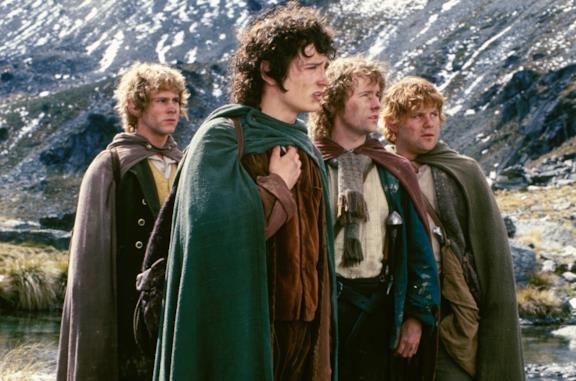 Gli Hobbit de La compagnia dell'Anello