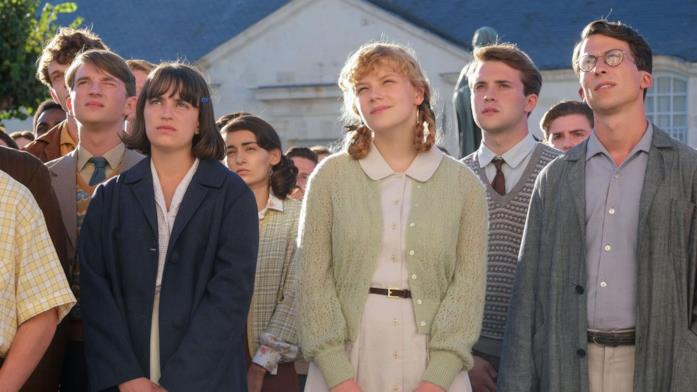 Il cast della serie TV Il liceo Voltaire