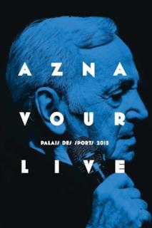 Poster Charles Aznavour - Live Palais des Sports