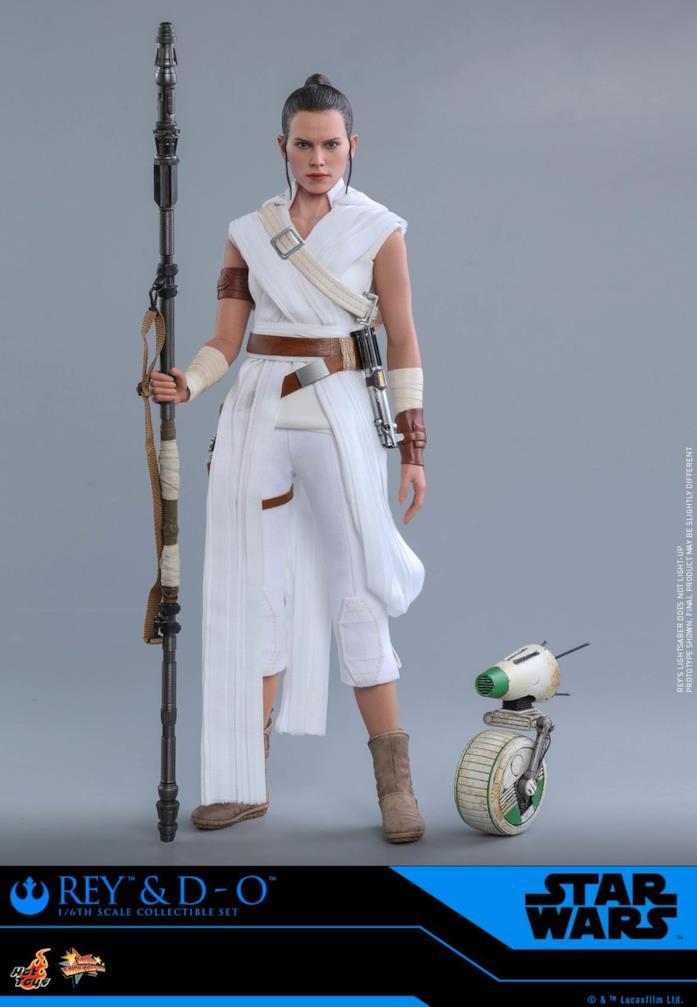 Star Wars, le action figure di Rey e DO