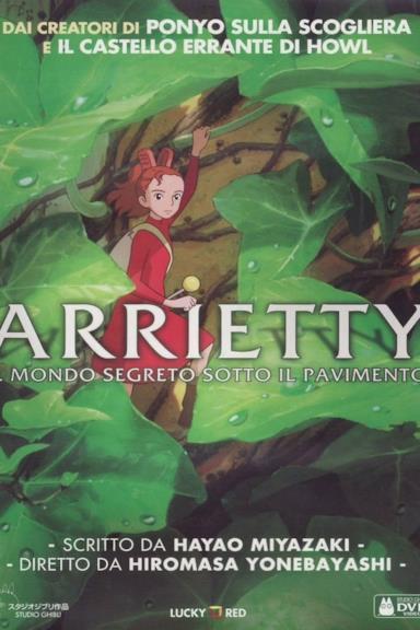 Poster Arrietty - Il mondo segreto sotto il pavimento