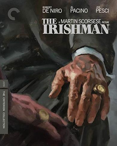 Cofanetto Blu-ray di The Irishman