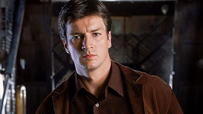 Nathan Fillion in Firefly