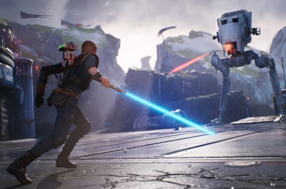 Screen di gioco di Star Wars Jedi: Fallen Orders