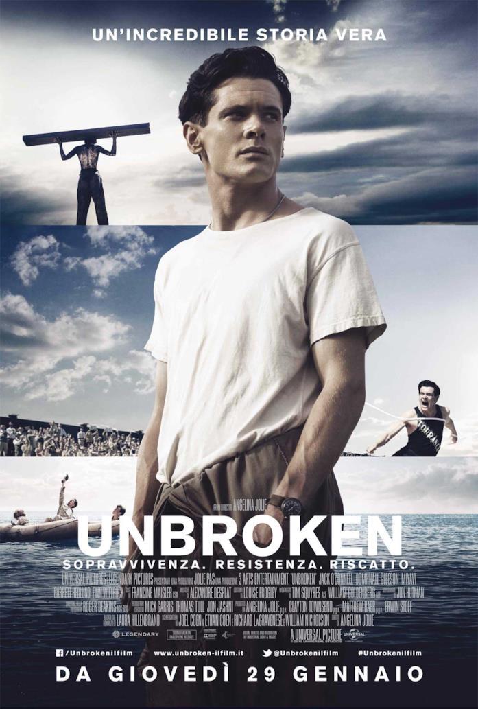 Il poster di Unbroken