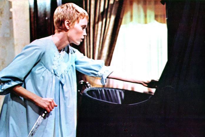 Mia Farrow interpreta Rosemary Woodhouse