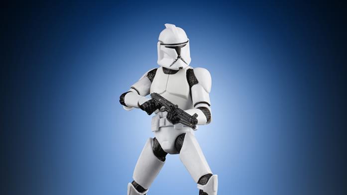 Clone Trooper, action figure esclusiva di Star Wars