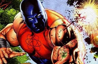 Atom-Smasher nei fumetti
