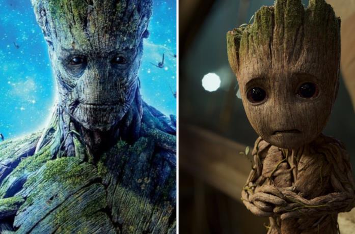 Groot e Baby Groot