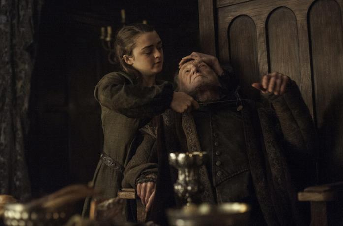 Arya uccide i Frey in Game of Thrones