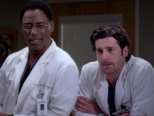 Derek Shepherd e Preston Burke di Grey's Anatomy