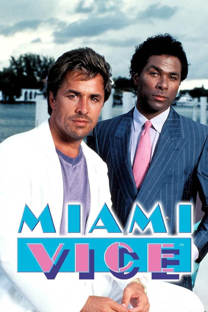 Miami Vice: il poster della serie