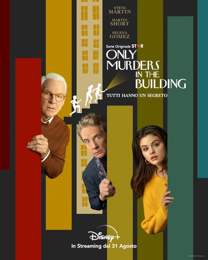 Il poster della serie Only Murders in the Building