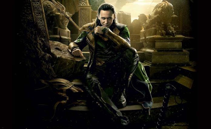 Loki è interpretato da Tom Hiddleston