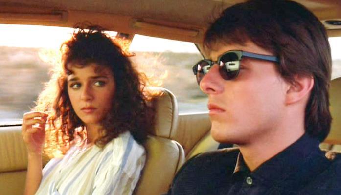 Valeria Golino accanto a Tom Cruise in Rain Man