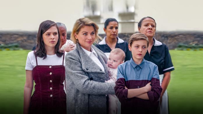 Una scena della serie Netflix Di mamma ce n'è solo... due!