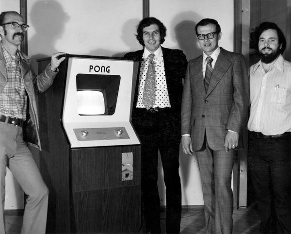 Gli autori dello storico videogioco Pong