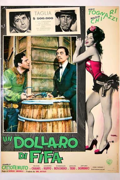 Poster Un dollaro di fifa