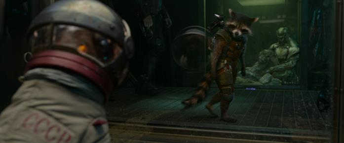 Cosmo e Rocket in Guardiani della Galassia