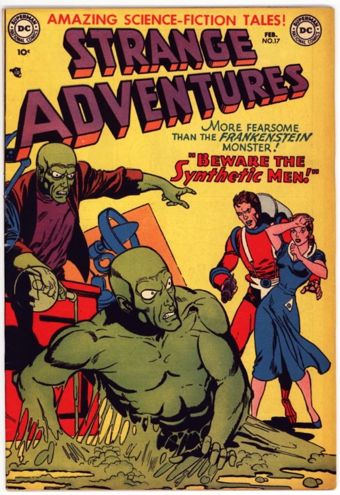 La copertina di Strange Adventures numero 17 (edizione DC Comics US)