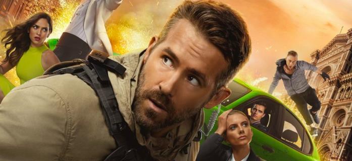 Ryan Reynolds nel poster di 6 Underground
