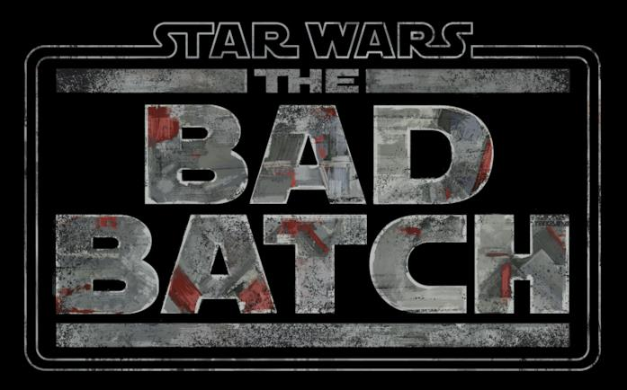The Bad Batch scritto a caratteri cubitali su sfondo nero