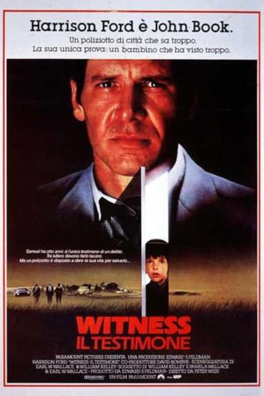 Poster Witness - Il testimone