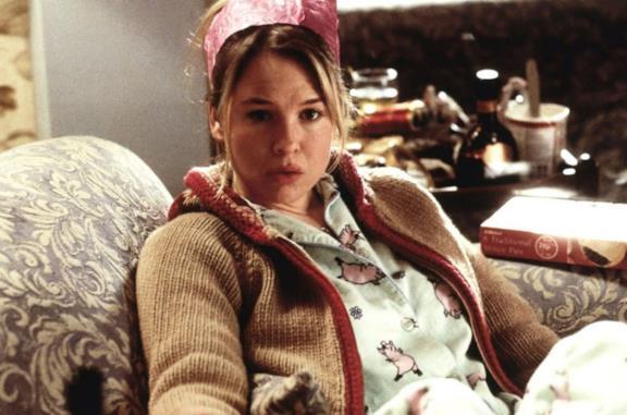 Bridget Jones sul divano