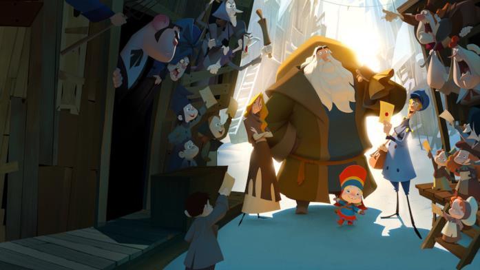 Una scena di Klaus - I segreti del Natale