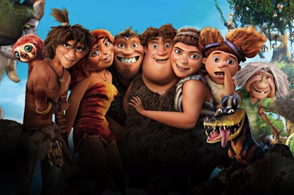 I personaggi del film I Croods