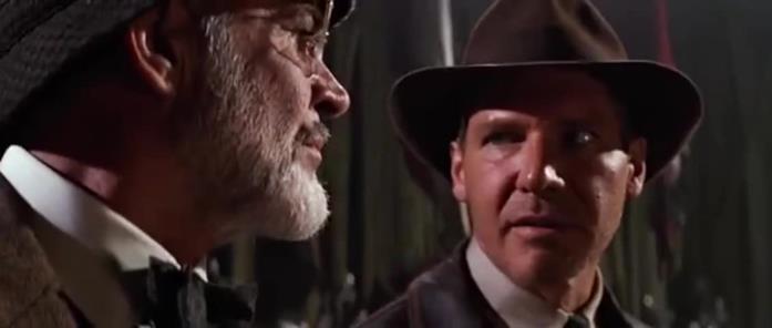 Una scena tratta da Indiana Jones e l'ultima crociata